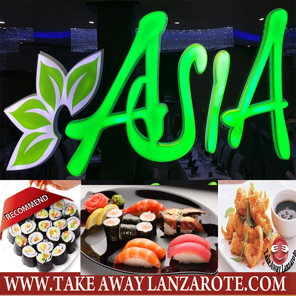 Asia Playa Blanca - Takeaway Lanzarote Group = Sushi Delivery Playa Blanca