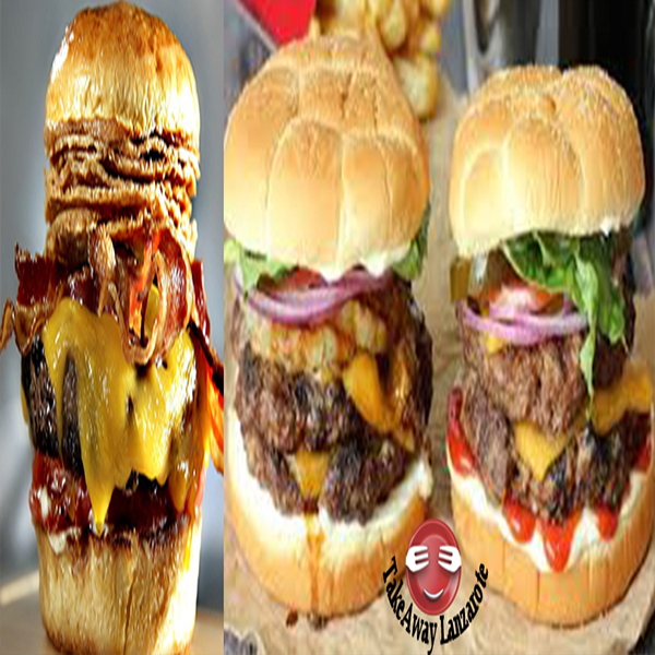 Fresh Burgers Playa Blanca - Selection of Best Burger Places and Burger Restaurants in Playa Blanca - Various names like Atlantico Restaurant Takeaway Free Burger Delivery, Chacho Burger, Oceano, Why Not Burger Bar Playa Blanca
