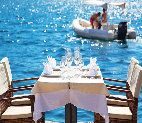 Restaurants with Seaview in Playa Blanca - Restaurants in Marina Rubicon Playa Blanca - Outdoor Dining Playa Blanca