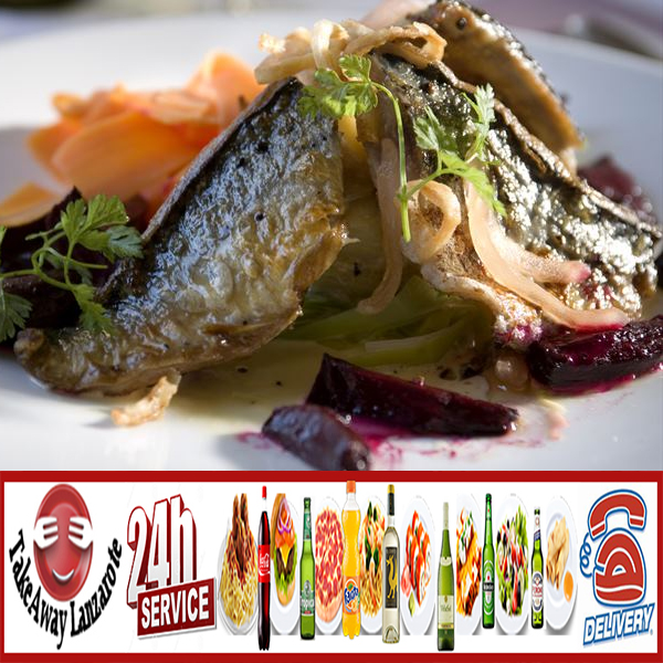 Takeaway Lanzarote Restaurant Playa Blanca - Takeaway Lanzarote Group = Fish Delivery Playa Blanca