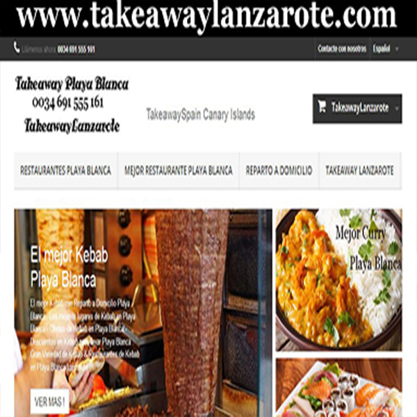 Takeaway Playa Blanca - Takeaway Lanzarote Group = Seafood Delivery Playa Blanca