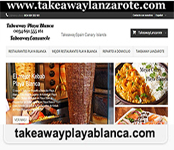 Best Delivery Restaurants Playa Blanca Lanzarote - Food Delivery Service across Canarias from Best Restaurants with Delivery Takeaways. Order Your Favorite Restaurants Food anywhere in Playa Blanca Lanzarote - Orders over the Phone and Online Restaurants Playa Blanca Lanzarote